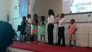 Voices of Joy children choir singing